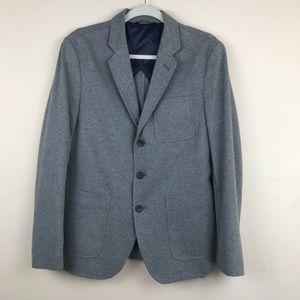 Banana Republic Gray Tailored Slim Fit Blazer 38S